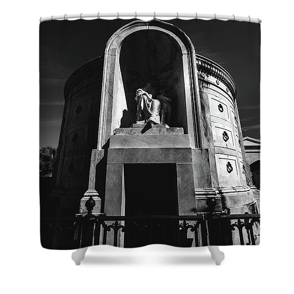 Baroque Tomb Shower Curtain