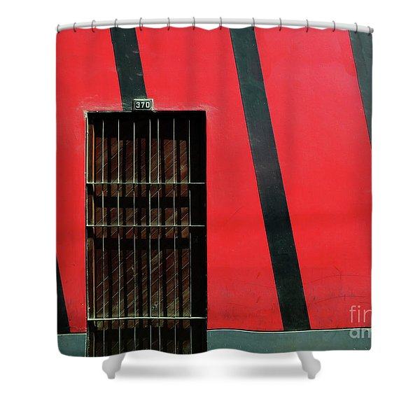 Bars And Stripes Shower Curtain