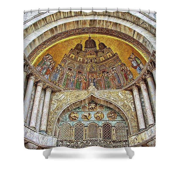 Basilica Di San Marco Shower Curtain