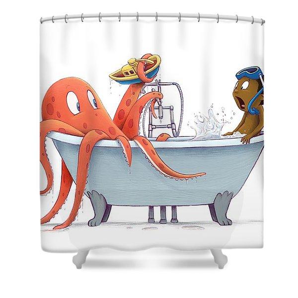 Bathtime Shower Curtain