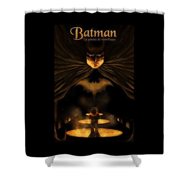 Batman's Shower Curtain