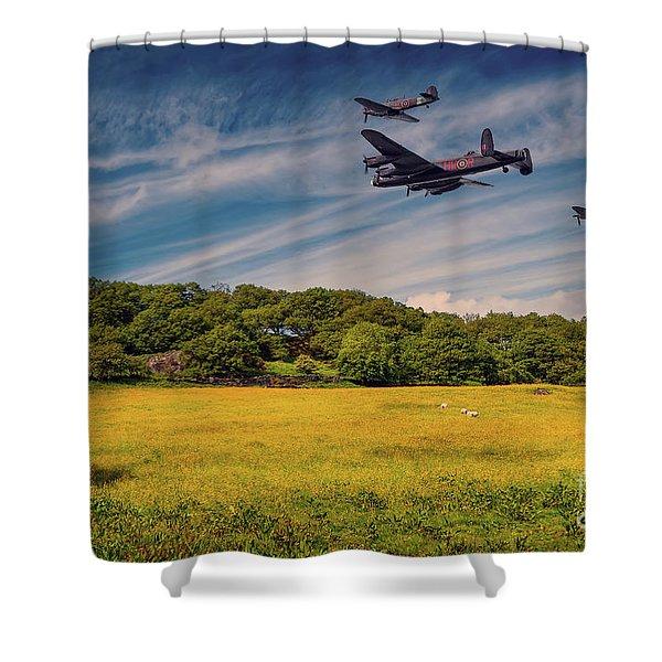 Battle Of Britain Memorial Flight  Shower Curtain