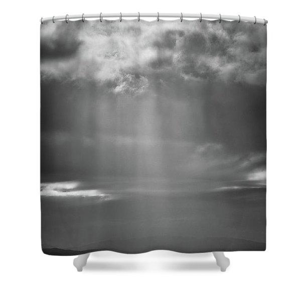Bay Light Shower Curtain