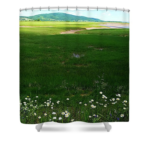 Bay Of Fundy Landscape Shower Curtain