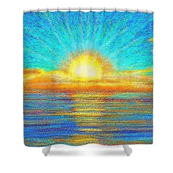 Beach 1 6 2019 Shower Curtain