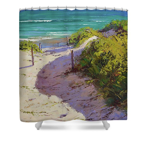 Beach Sand Dunes Shower Curtain