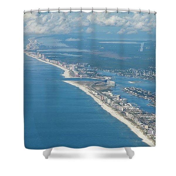 Beachmiles-5137-tm Shower Curtain