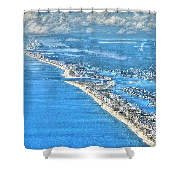 Beachmiles-5137-tonemapped Shower Curtain