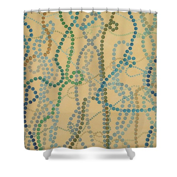 Bead And Pearls - Trendy Shower Curtain