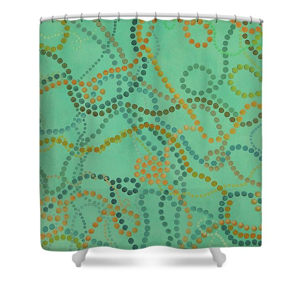 Beads - Under The Ocean Shower Curtain