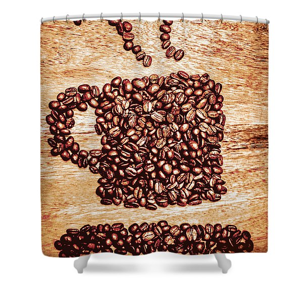 Beanery  Shower Curtain