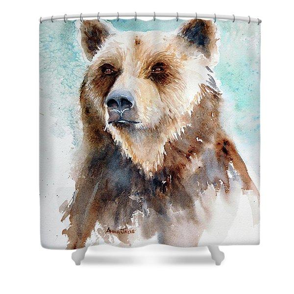 Bear Essentials Shower Curtain