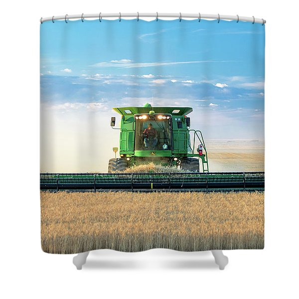 Beautiful Night For Work Shower Curtain