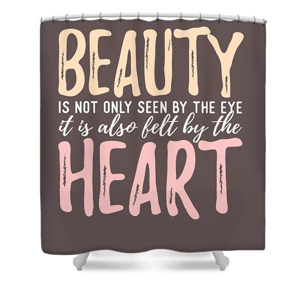 Beauty Heart Shower Curtain