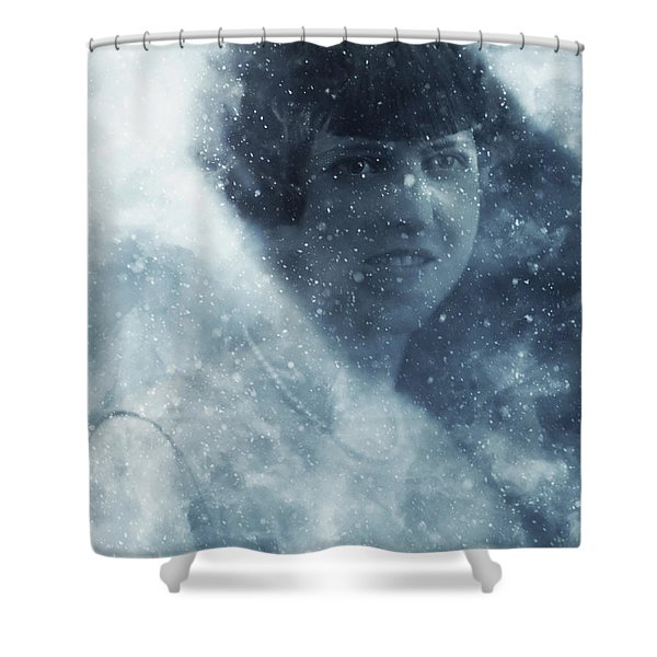 Beauty In The Snow Shower Curtain