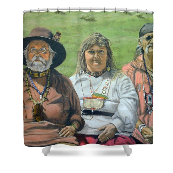 Beaver Camp Shower Curtain