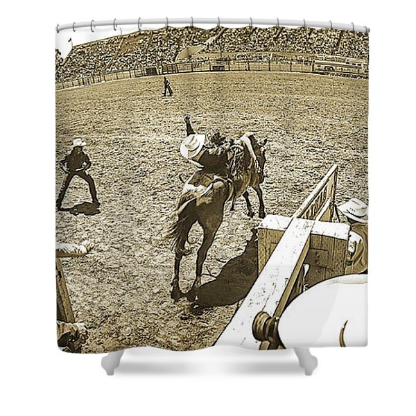 Behind The Chutes Shower Curtain