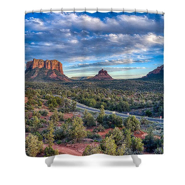 Bell Rock Scenic View Sedona Shower Curtain