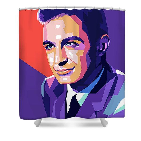 Ben Gazarra Pop Art Shower Curtain