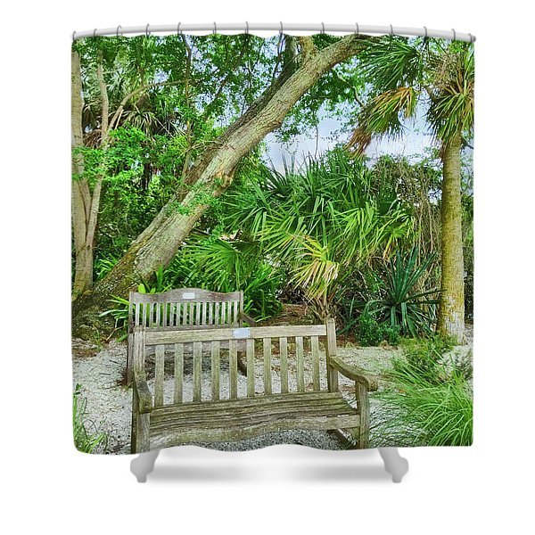 Bench View Shower Curtain