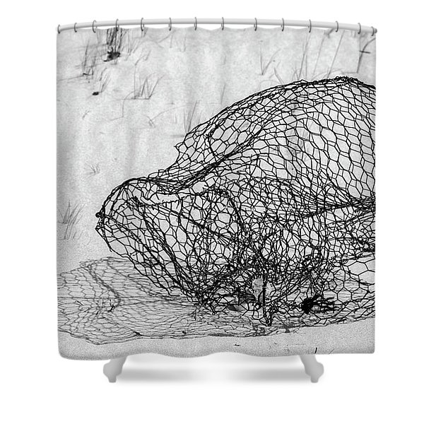 Bent And Twisted Shower Curtain