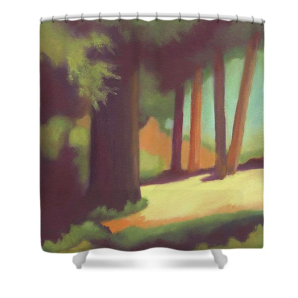 Berkeley Codornices Park Shower Curtain