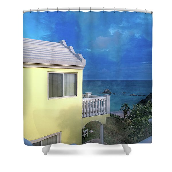 Bermuda High Shower Curtain