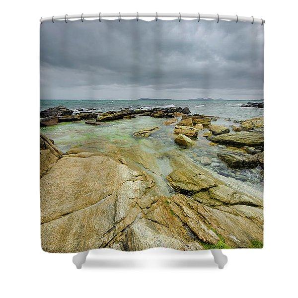 Berneray Coast Shower Curtain