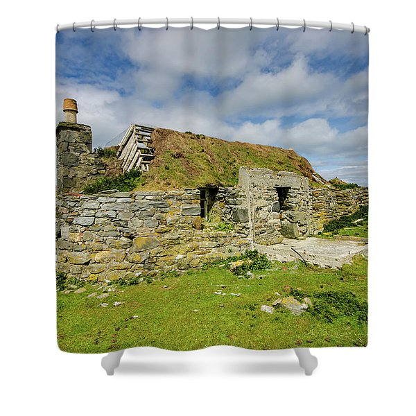 Berneray Croft Shower Curtain