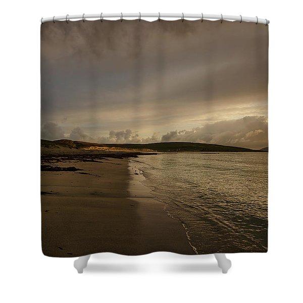 Berneray First Light Shower Curtain
