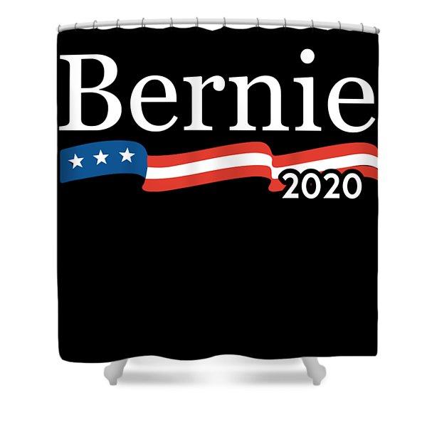 Bernie For President 2020 Shower Curtain