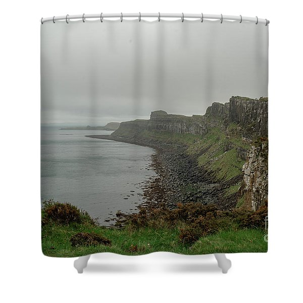 Beyond The Edge Shower Curtain