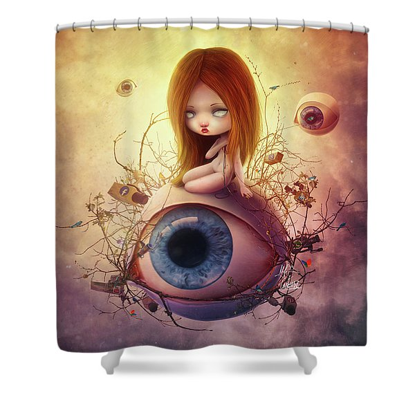Big Brother Shower Curtain