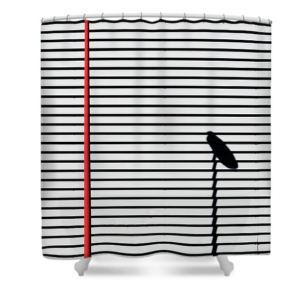 Bilbao Shadow Shower Curtain