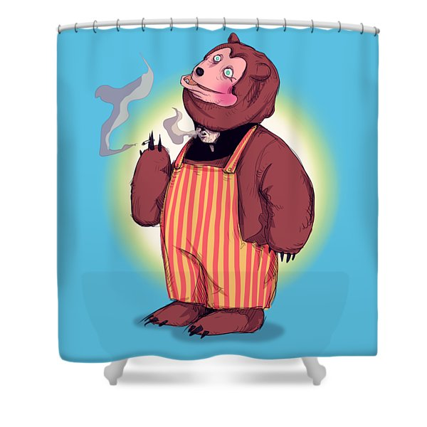 Billy Bob Shower Curtain