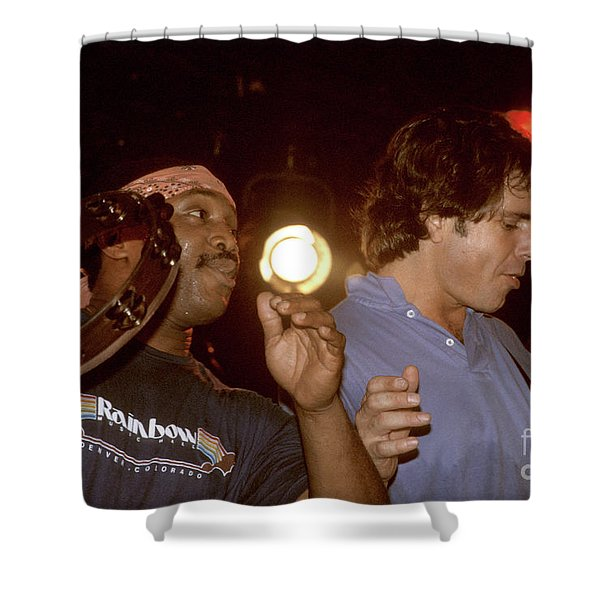 Billy Cobham And Bob Weir Shower Curtain