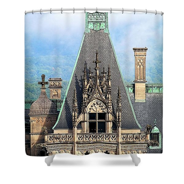 Biltmore Architectural Detail  Shower Curtain