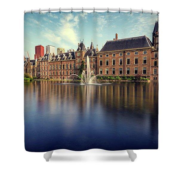 Binnenhof, The Hague Shower Curtain