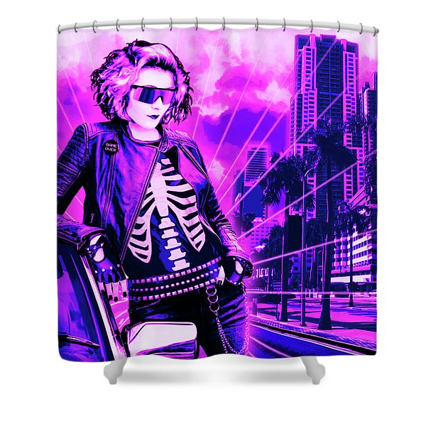 Biscayne And 5th Shower Curtain