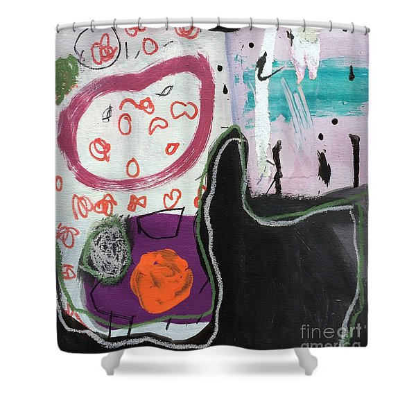 Bisou Shower Curtain