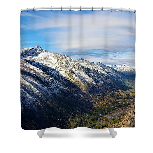 Bitterroot Valley Shower Curtain