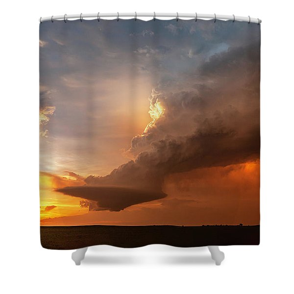 Blazing Shower Curtain