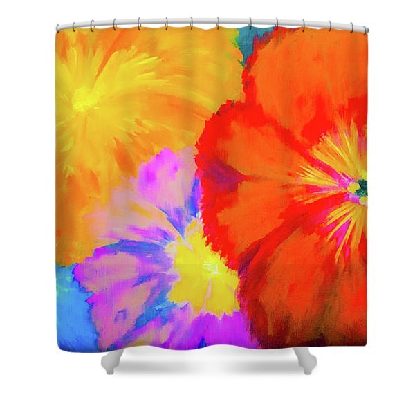 Bloom 2 Shower Curtain