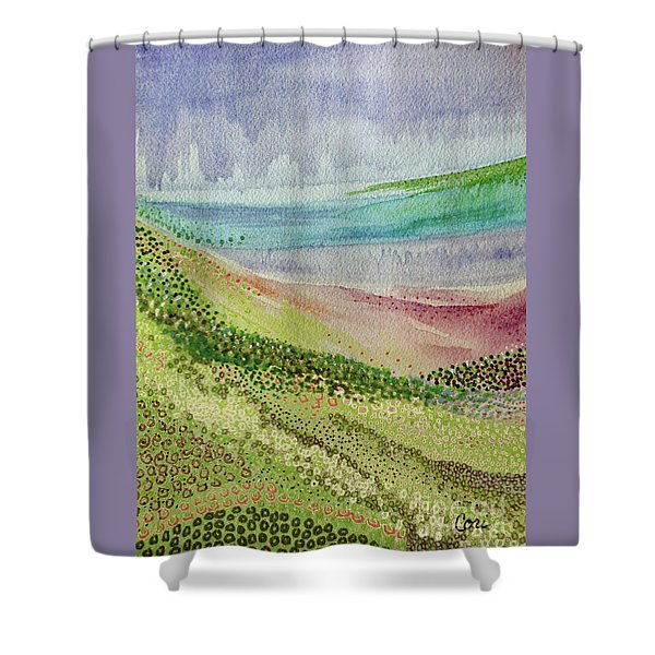 Blooming 1002 Shower Curtain
