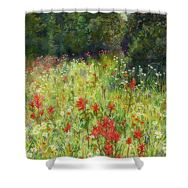 Blooming Field Shower Curtain