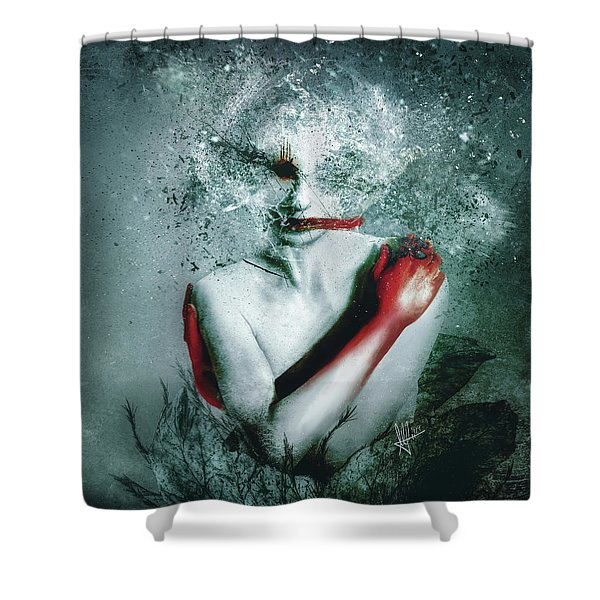 Blooming Protection Shower Curtain