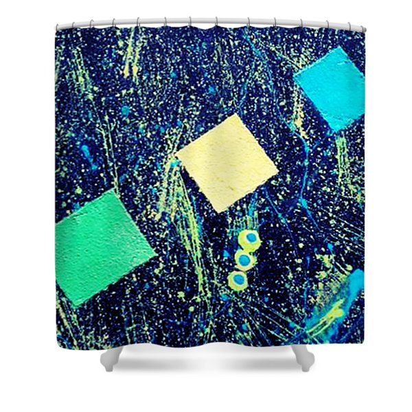 Blue Midnite Shower Curtain