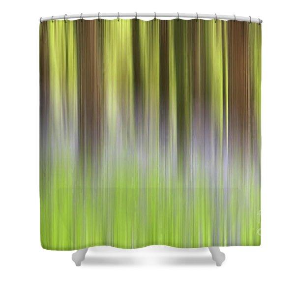 Bluebell Woods Shower Curtain