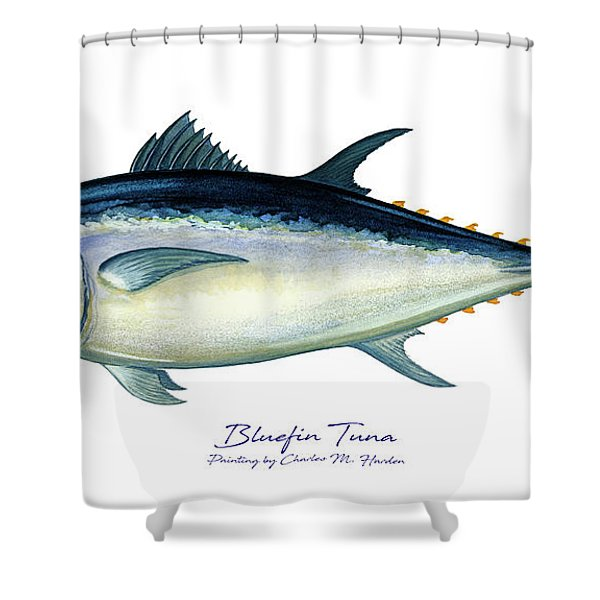 Bluefin Tuna Shower Curtain