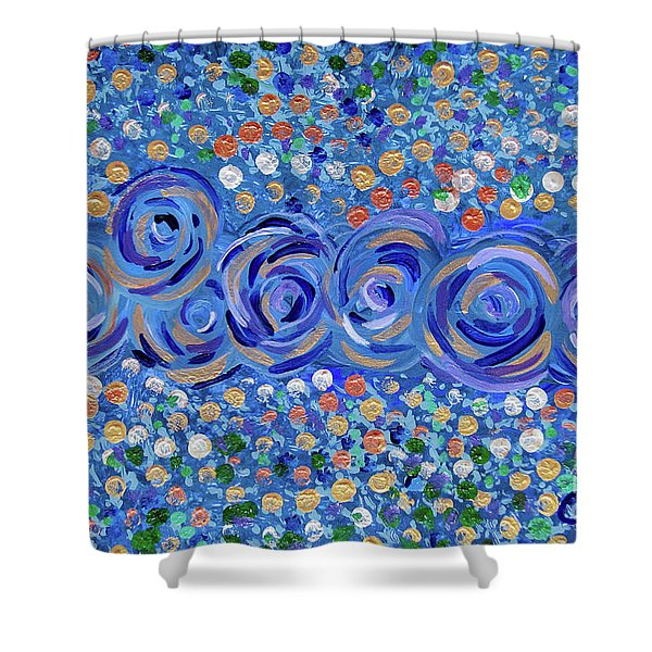Blues Shower Curtain